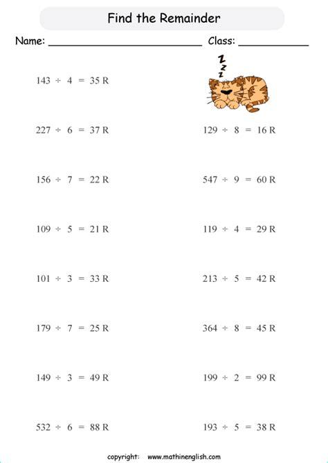 find  remainder   division   digits