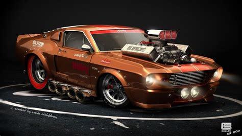 muscle car hot rod drawings   clip art