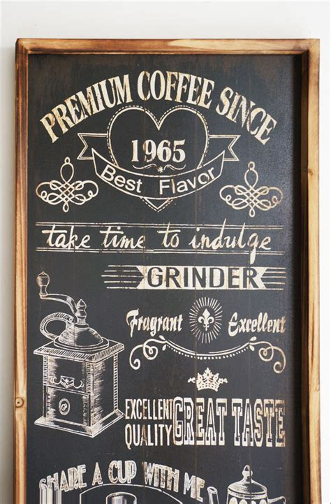 cafe sign board