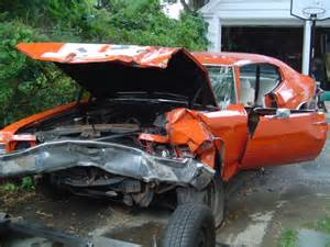 Wrecked Chevelle