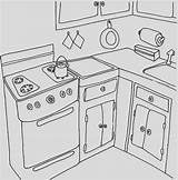 Coloring Stove Getcolorings Cool sketch template