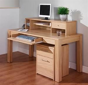电脑桌书柜效果图 图片大全
