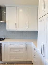 kitchen cabinet handles Kitchen remodel using Lowes Cabinets - Cre8tive Designs Inc.