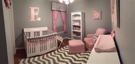 26627 pink and gray baby bedding pink and grey elephant nursery project nursery