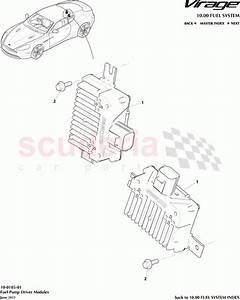 Aston Martin Virage Fuel Pump Driver Modules Parts