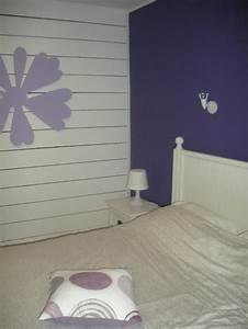 chambre mauve et blanc photo 6 8 3512770 With chambre mauve et blanc