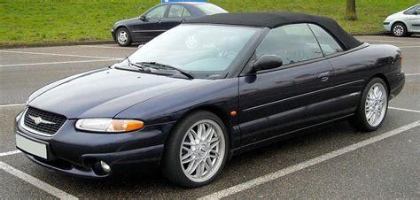 2000 Chrysler Sebring Convertible Parts by 2001 Chrysler Sebring Lx Convertible 2 7l V6 Auto