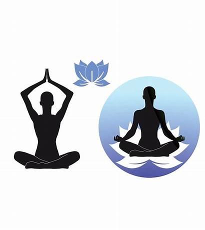 Meditation Lotus Position Clipart Transparent Yoga Clip
