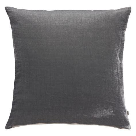 regency sofa regency grey velvet cushion 45 x 45cm buy now at habitat uk