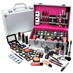 4 L Set by Make Up Set Vanity 60pcs Cosmetics