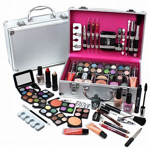Urban Beauty Make Up Set & Vanity Case, 60pcs, Cosmetics