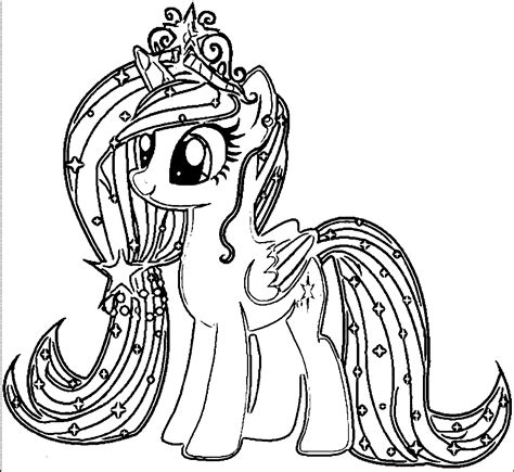 pony coloring pages  educative printable