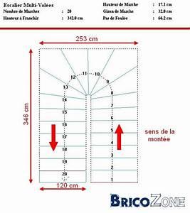 Calcul Escalier Quart Tournant : calcul escalier demi tournant ~ Dailycaller-alerts.com Idées de Décoration