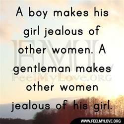 A Boy Makes His Girl Jealous