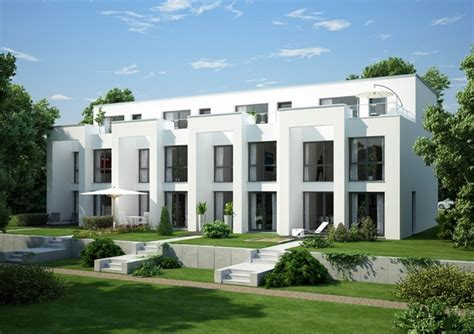 Traditional And Modern Row Houses  Urban Dwellings With