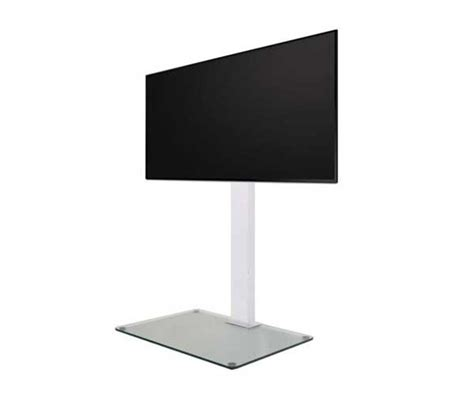 piedistallo monitor piedistallo h 116 cm display tv suspens norstone