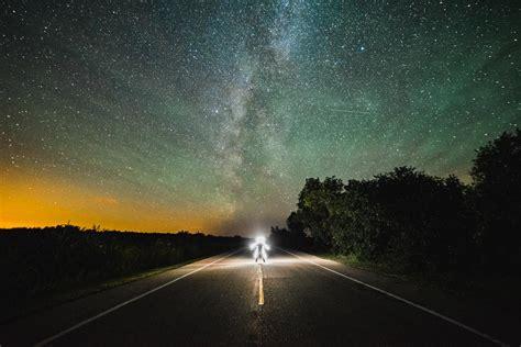 Road The Milky Way Spaceporn