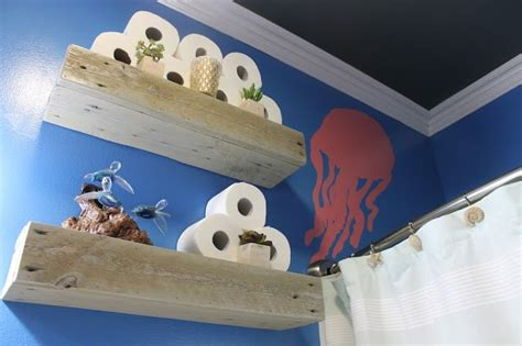 hometalk diy   sea themed kids bathroom