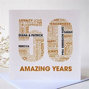 personalised golden wedding anniversary card by mrs l With images of golden wedding anniversary cards