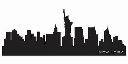Skyline Outline York Silhouette Nyc Vinyl Wall