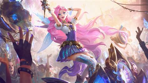 seraphine  officially league  legends  champion