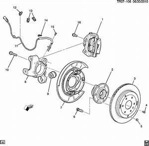 Driver U0026 39 S Side Rear Brake Backing Plate