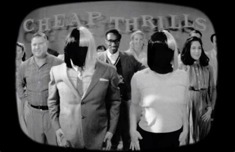Sia, Lyric Video Di Cheap Thrills Ft. Sean Paul In Stile