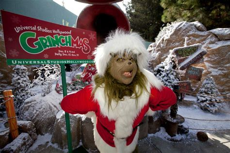 ya llego grinchmas  universal studios hollywood