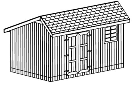 custom saltbox shed plans 10 x 16 shed detailed building