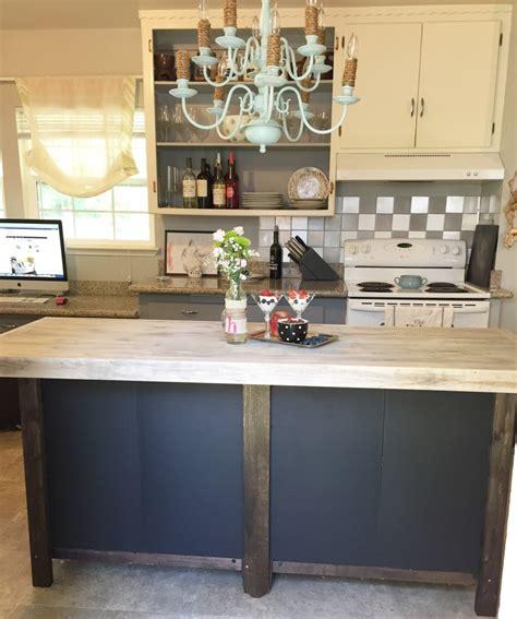 diy kitchen island  bookcases jlm designs