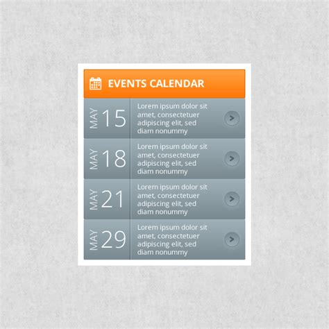 calendar webportio graphical resource adobe