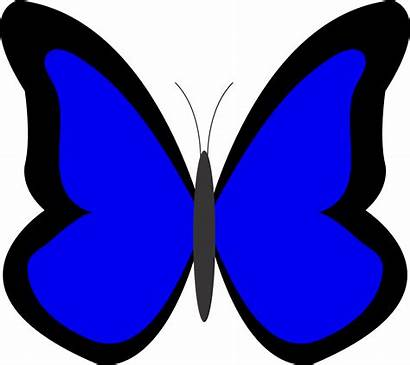 Clipart Butterfly Clip Colour Cliparts Peace Thorough