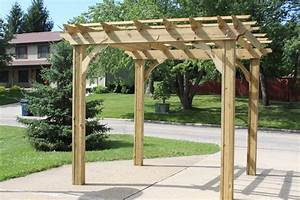 Corner arbor plans best woodworking project