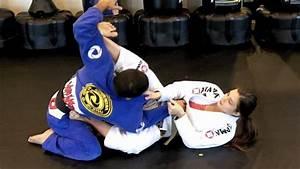 Brazilian Jiu Jitsu Sweep to Triangle Option ( Abby Malone ...