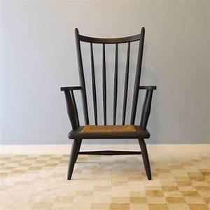 fauteuil design scandinave 1950 style wegner la maison retro With fauteuil design bois