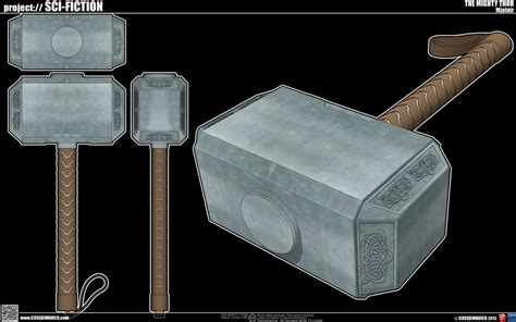 the mighty thor 39 s mjolnir by cosedimarco on deviantart