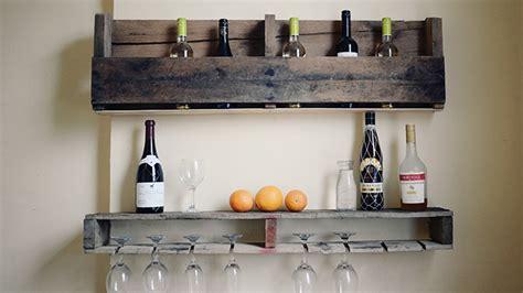 mini bar cuisine se créer un mini bar en bois de palettes
