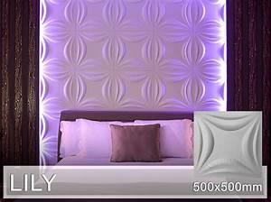 3d Wandpaneele Schlafzimmer : 3d wandpaneele wandplatten wandverkleidung lily 3d ~ Michelbontemps.com Haus und Dekorationen