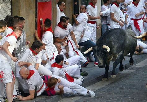 Navigating The Running Of The Bulls In Pamplona Spain