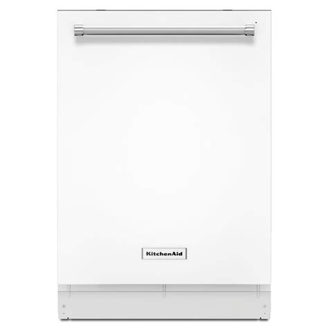 Kitchenaid 24 In Kdte254ewh2 Top Control Dishwasher In