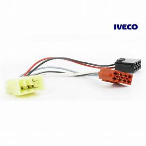 Connects2 Stereo Wiring Harness Adaptor Iso Lead For Iveco
