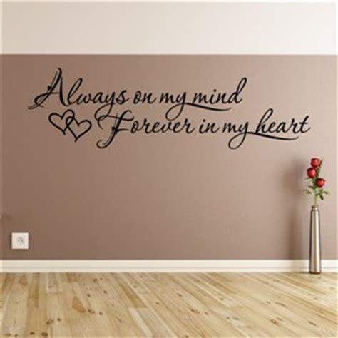 mind    heart vinyl wall decal