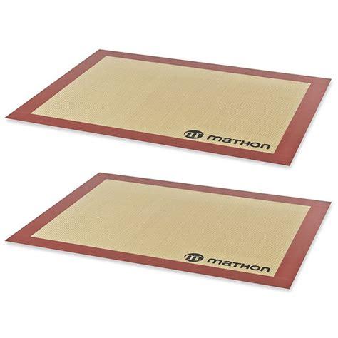 code promo amazon cuisine lot de 2 tapis de cuisson professionnels en silicone mathon tapis de cuisson et pâtisserie