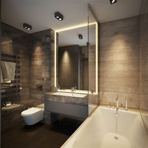 Modern Spa Bathroom by 17 Best Ideas About Modern Bathroom Lighting On