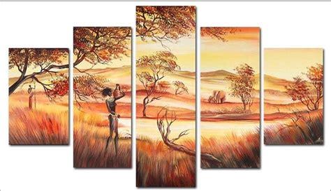 African Canvas Wall Art - Elitflat