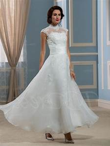 ankle length lace wedding dresses naf dresses With ankle length wedding dress