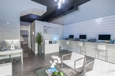 real estate office design about modern living real estate in downtown west palm Contemporary