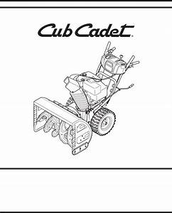 34 Cub Cadet Snow Blower Parts Diagram