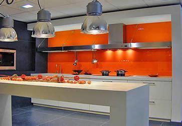 orange kitchen tiles deco cuisine peinture orange 1220