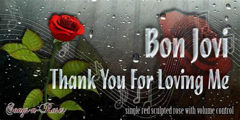 Bon Jovi Thank You For Loving Me Lyrics K--k.club 2018